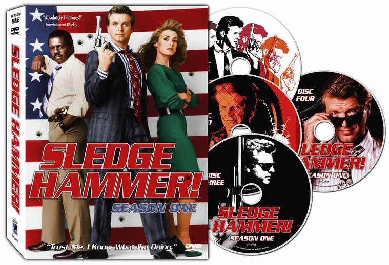Sledge Hammer! DVD set