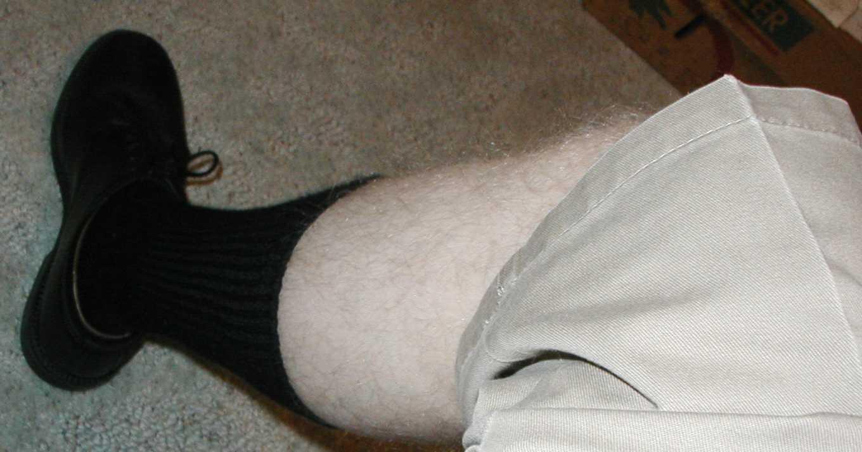 Step 3: Show some leg.